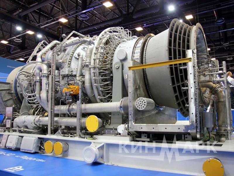 Погрузка и выгрузка газовой турбины