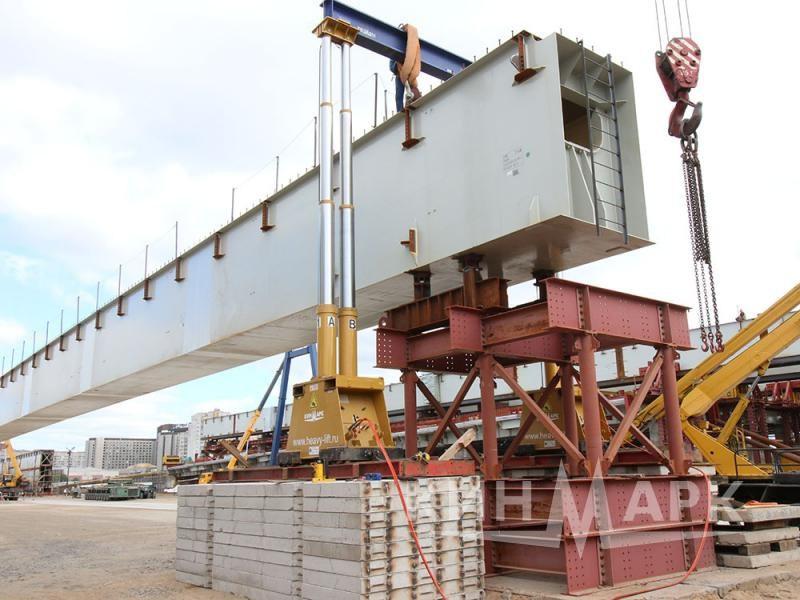 Loading and transportation of bridge beams
