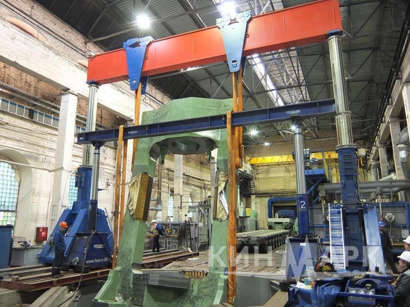 Siempelkamp press installation