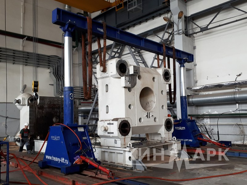 Injection molding machine Krauss Maffei dismantling
