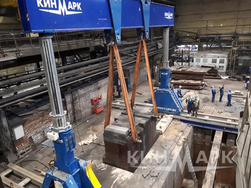 Демонтаж оборудования и ремонт фундамента