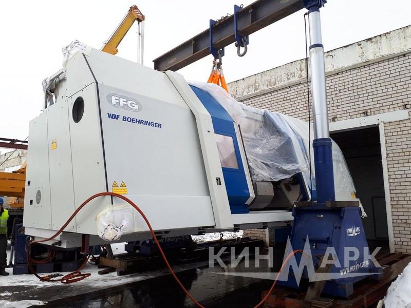 Boehringer VDF 560  installation