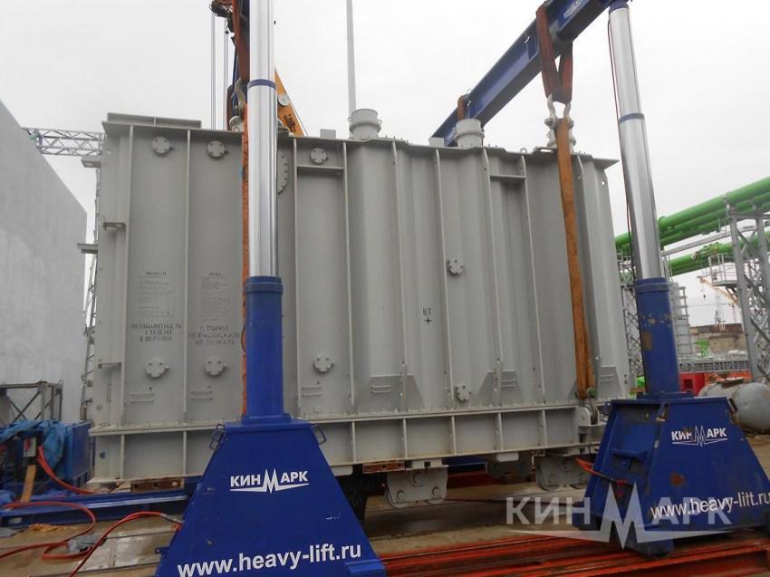 Перевозка трансформаторов на металлических санях: конструкция и монтаж