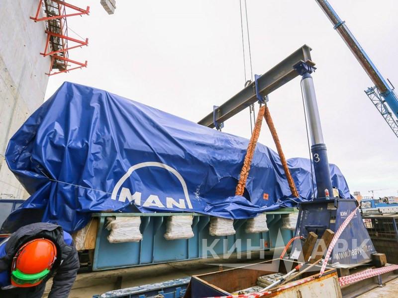 Доставка дизельгенераторных установок на ЛАЭС-2
