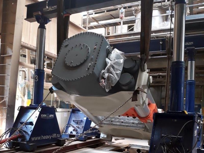 Установка пресса для производства керамической плитки SACMI PH2890