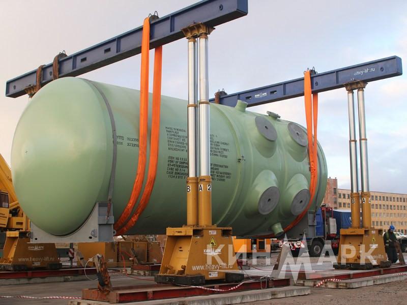 Доставка корпуса реактора