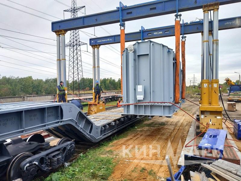 Перегрузка трансформатора на транспортер