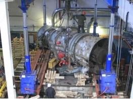 Демонтаж газовой турбины