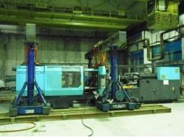 Установка термопластавтоматов DEMAG 1300/1500-5200