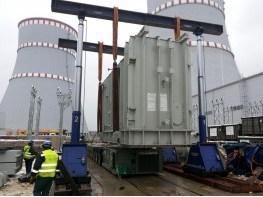 Installation of transformers
