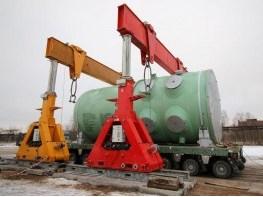Погрузка и перевозка корпуса реактора