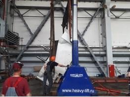 Krauss Maffei movable platen (BAP) dismantling