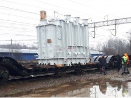 доставка трансформаторов на транспортере