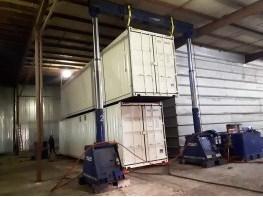 Монтаж мобильного семенного завода