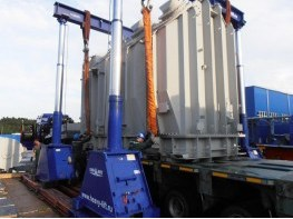 Transportation and installation of transformers