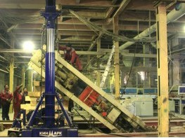 SITI presses dismantling and installation
