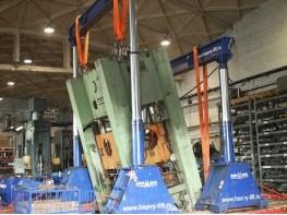 LITOSTROJ  presses dismantling and relocation