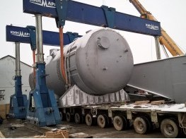 Transport of steam generator