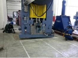 Press installation