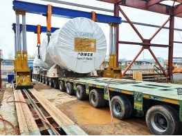Выгрузка турбины