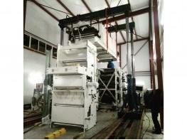 Установка оборудования для флексопечати.