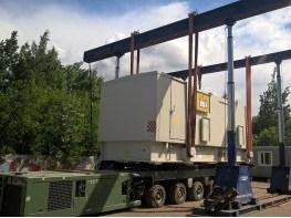 Перемещение оборудования со склада на склад